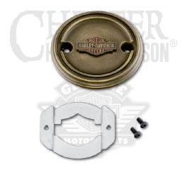 Harley-Davidson® Brass Right Side Medallion 25800089