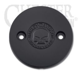 Harley-Davidson® Willie G Skull Left Side Medallion 25800114