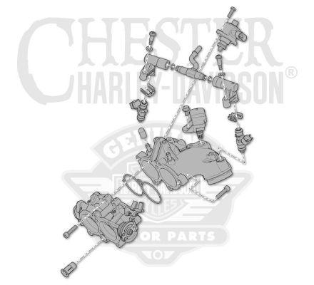 Harley-Davidson® Fuel System 27200031