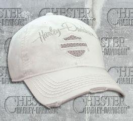 Harley-Davidson® Women's Studded Blank Bar & Shield Baseball Cap, Global Products, Inc. BC21500
