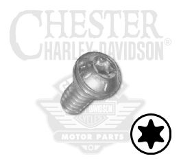"Harley-Davidson® Screw 1/4""-20 x 1/2"" UNC Torx Pan Head with Washer (Grade 8) 961"