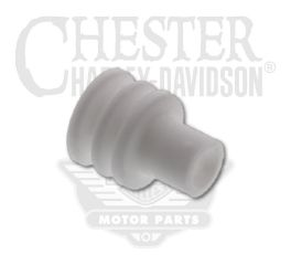 Harley-Davidson® White Cable Seal No.18-20 Gauge 72610-08