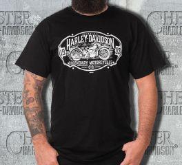 83b16986925155 Harley-Davidson® Men s Black High Road 1903 Short Sleeve Tee