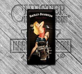 Harley-Davidson® Nostalgic Biker Babe Tin Sign, Nostalgic Art 27016