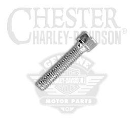 "Harley-Davidson® Chrome 5/16""-18 x 1-1/2"" UNC Socket Head Screw 94336-91T"