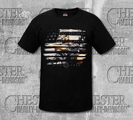 Harley-Davidson® Men's American Dream Short Sleeve Tee, RK Stratman Inc. R002691