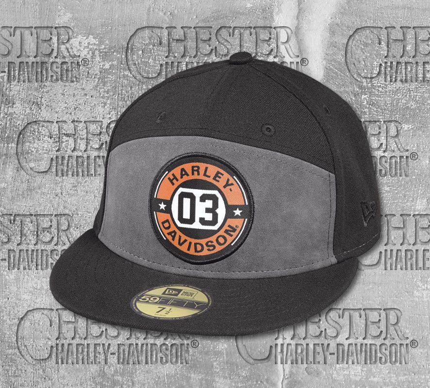 Harley-Davidson® Men s Circle 03 59Fifty® Cap 97690-18VM  4966b9321638