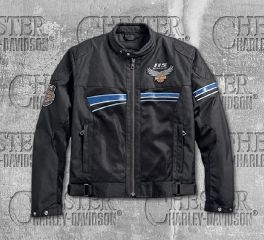 Harley-Davidson® Men's 115th Anniversary Eagle Mesh Jacket 98217-18EM