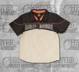 Harley-Davidson® Boy's Workshop Short Sleeve Shirt, OkisOnent GmbH 1091523