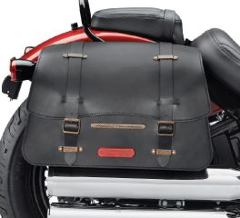 Harley-Davidson® H-D Detachables Leather Saddlebags 90201552A