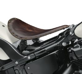 Harley-Davidson® Leather Solo Saddle 52000381