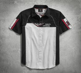 Harley-Davidson® Performance Vented Race Flag Shirt 96180-18VM