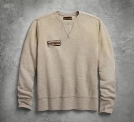 Harley-Davidson® Canvas Patch Slim Fit Pullover Sweatshirt 96272-18VM