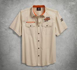 Harley-Davidson® Screamin' Eagle Twill Shirt 96288-18VM