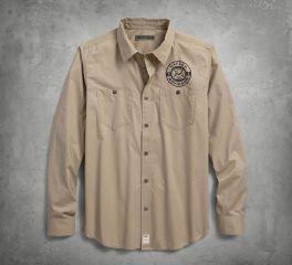 Harley-Davidson® Skull Lightning Slim Fit Shirt 96235-18VM
