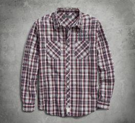 Harley-Davidson® Plaid Slim Fit Shirt 96236-18VM
