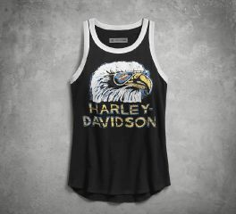 Harley-Davidson® Retro Eagle Tank 96240-18VW