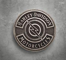 Harley-Davidson® Lightning Bolt Buckle 97704-18VM
