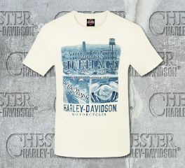 Harley-Davidson® Men's American Heritage Short Sleeve Tee, RK Stratman Inc. R002715