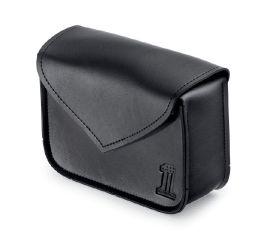 Harley-Davidson® Black Standard Line Handlebar Bag 93300112