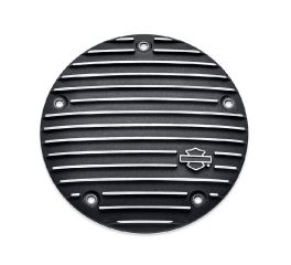 Harley-Davidson® Black Fin Narrow-Profile Derby Cover 25700968