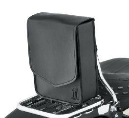 Harley-Davidson® Black Standard Line Sissy Bar/Solo Bag 93300114