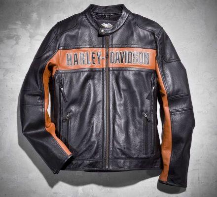 Harley-Davidson® Men's Classic Leather Jacket 98014-10VM