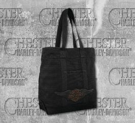 Harley-Davidson® Canvas Tote Bag 97824-19VW