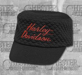 Harley-Davidson® Embroidered Flat Top Cap 97726-19VW