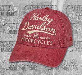 Harley-Davidson® Felt Appliqué Cap 97718-19VW