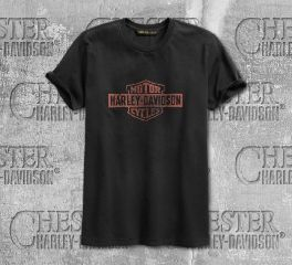 Harley-Davidson® Cracked Print Slim Fit Tee 96521-19VM