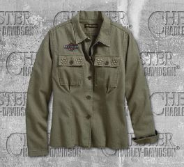 Harley-Davidson® Studded Yoke Shirt 96321-19VW