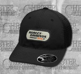 Harley-Davidson® H-D Racing Patch Trucker Cap 99459-19VM