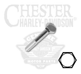 "Harley-Davidson® 1/4""-20 x 2-1/4"" UNC Hex Head Screw 94159-91T"
