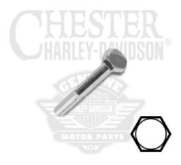 "Harley-Davidson® 1/4""-20 x 2-1/2"" UNC Hex Head Screw 94160-91T"