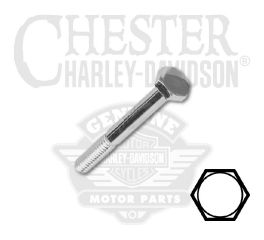 "Harley-Davidson® 1/4""-20 x 2-3/4"" UNC Hex Head Screw 94161-91T"