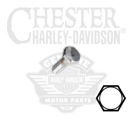 "Harley-Davidson® 1/4""-28 x 1/2"" UNF Hex Head Screw 94170-91T"