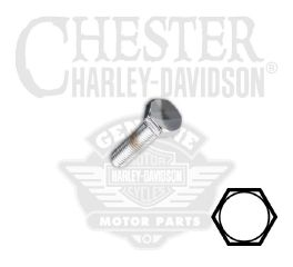 "Harley-Davidson® 1/4""-28 x 7/8"" UNF Hex Head Screw 94173-91T"