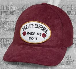 Harley-Davidson® Women's Made Me Do It Baseball Cap 97757-19VW