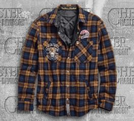 Harley-Davidson® Men's Reversible Slim Fit Shirt Jacket 96607-19VM