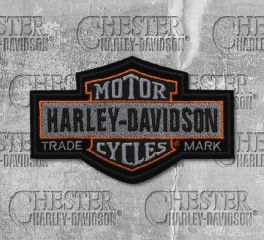 Harley-Davidson® Small Nostalgic Bar & Shield® Embroidered Patch, Global Products, Inc. EM313752