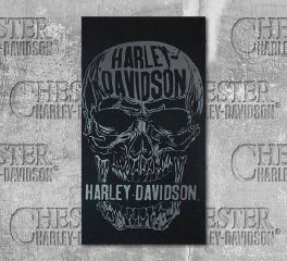 Harley-Davidson® Men's Decomposed Skull Black Multifunctional Headwear, Global Products, Inc. MHW24930