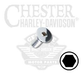 "Harley-Davidson® Screw 1/4""-20 x 1/2"" UNC Hex Flat Countersunk Head 94229-00"