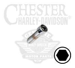 "Harley-Davidson® 1/4""-28 x 3/4"" UNF Smooth Hex Socket Head Screw 94324-92TS"