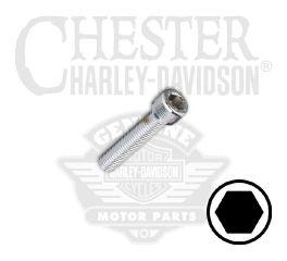 "Harley-Davidson® 1/4""-28 x 1"" UNF Hex Socket Head Screw 94326-92T"