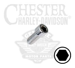 "Harley-Davidson® 5/16""-24 x 5/8"" UNF Smooth Hex Socket Head Screw 94345-92TS"