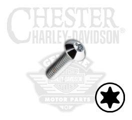 """Harley-Davidson® No. 8-32 x 5/8"""" UNC Torx Button Head Screw 94588-98"""