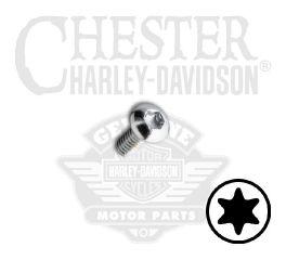 """Harley-Davidson® No. 10-24 x 1"""" UNC Torx Button Head Screw 94589-98"""
