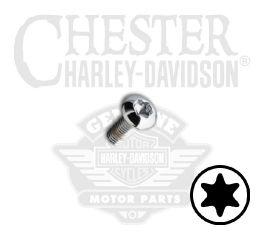 """Harley-Davidson® No. 10-32 x 1/2"""" UNF Torx Button Head Screw 94591-98"""