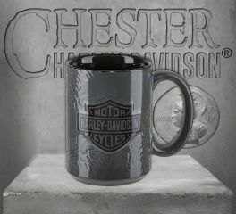 Harley-Davidson® Sculpted Tire Tread Coffee Mug HDX-98614